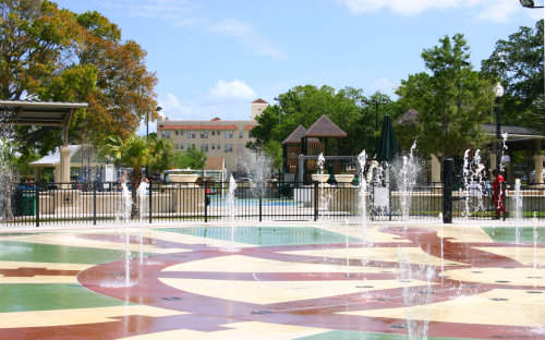 Fort Mellon Park and Splash Pad