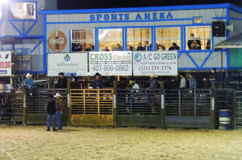 Kissimmee Sports Arena Rodeo