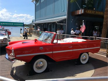 Amphicar Tours at Disney Springs