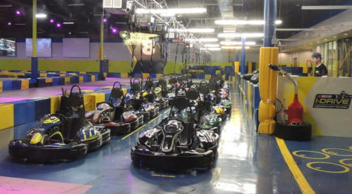 I-Drive NASCAR Indoor Kart Racing